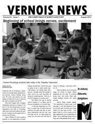2012_Vernois News - Mount Vernon Township High School