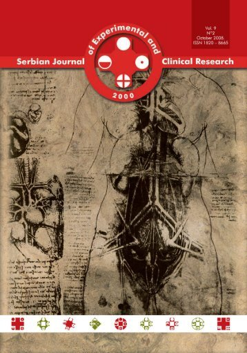 Serbian Journal of Experimental and Clinical Research Vol9 No2