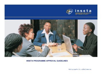 INSETA PROGRAMME APPROVAL GUIDELINES