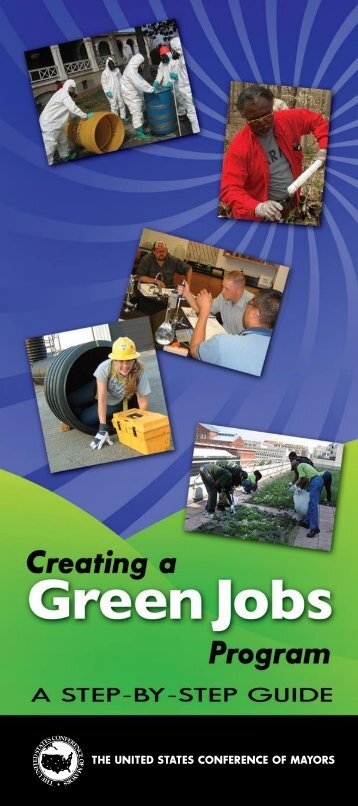 Creating a Green Jobs Program - U.S. Conference of Mayors