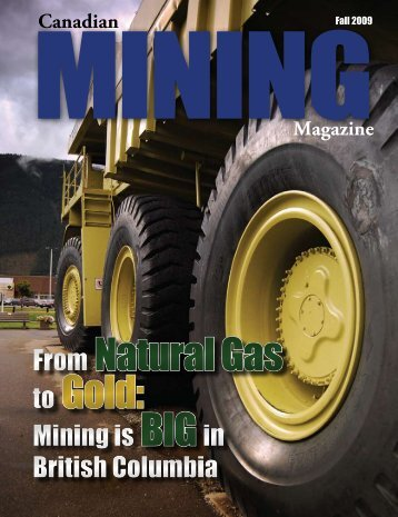 Natural Gas Gold - Canadian Mining Magazine