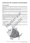 Erfahrungen mit verschiedenen Drucktechniken - Seite 3
