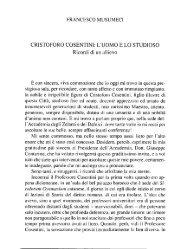 Musumeci F., Cristoforo Cosentini - accademia di scienze lettere e ...