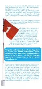 Brochure over de golfspelerkliniek - Chirec - Page 4