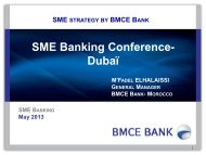 bmce bank - SME Finance Forum