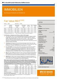 IMMOBILIEN - Fair Value REIT-AG