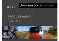 John Seedhouse_Hancock Coal - Local Buy