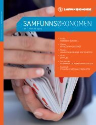 Direkte nedlasting av pdf - Samfunnsøkonomene