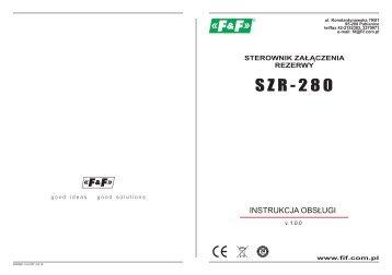 SZR-280 sterownik...