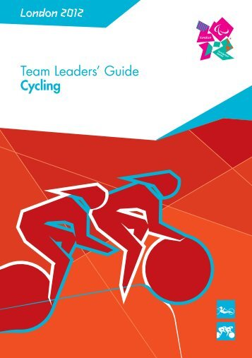 London 2012 Team Leaders' Guide Cycling