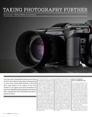tAking pHotogrApHY furtHer - Hasselblad