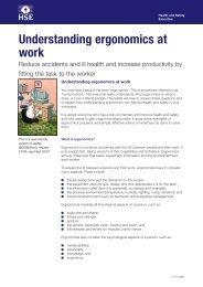 Understanding ergonomics at work - i-FM.net