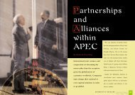 Partnerships and Alliances within APEC by Nelson An-Ping Chang