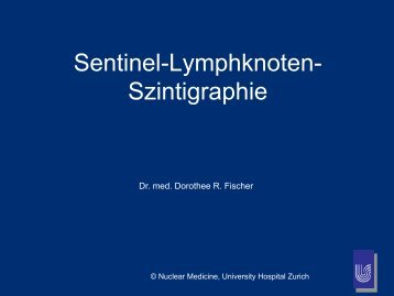 Sentinel-Lymphknoten- Szintigraphie - Radiologie
