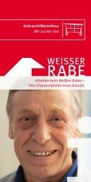 Flyer für Bewerber ca. 108 kb - Weisser Rabe