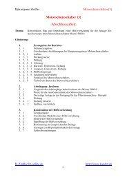 Die WPA- Abschlussarbeit - meine erstes Projekt
