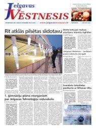 2012.gada 20.decembris Nr.51(287) - Jelgavas Vēstnesis