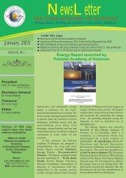 Dr. Atta-ur-Rahman Gold Medal-2012 - Pakistan Academy of Sciences