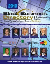 2010 - Central PA Black Business Directory & Resource Guide