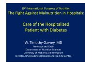 Care of the Hospitalized Patient with Diabetes