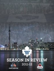 season in review 2011-12 - Toronto Maple Leafs