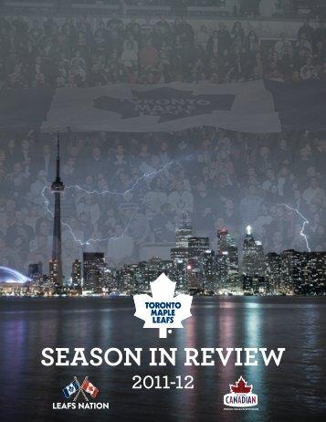 season in review 2011-12 - Toronto Maple Leafs