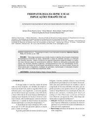 ii - fisiopatologia da sepse e suas implicações ... - Revista Medicina