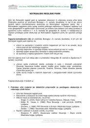 Navodila za učitelje - Presihajoče Cerkniško jezero - Notranjski ...
