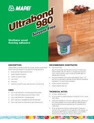 Ultrabond ECO 980 - Mapei