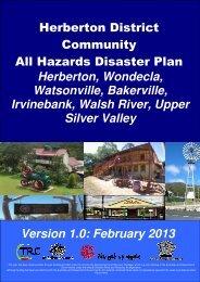 Herberton & District All Hazards Disaster Plan - Tablelands ...