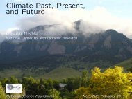 Climate Past, Present, and Future - IMAGe