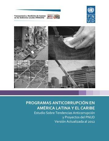 programas anticorrupción en américa latina y el caribe