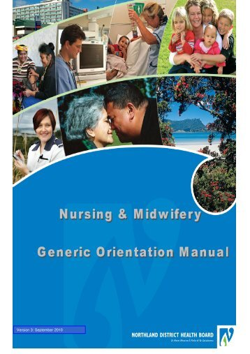 Nursing and Midwifery Orientation Manual - Northland District ...
