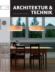 Architektur & Technik, Umbau, Ausgabe 12-09