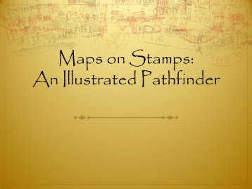 Maps on Stamps Illustrated - Emporia State University