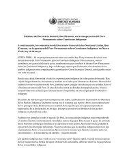 Palabras del Secretario General, Ban Ki-moon, en la ... - Acnudh