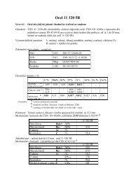 Ocel 11 320 5R - VUT UST