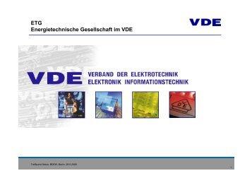 Effizienz- und Einsparpotenziale elektrischer ... - Treffpunkt Netze