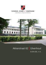 Akkerstraat 62 | Ulvenhout - Schonck, Schul & Compagnie