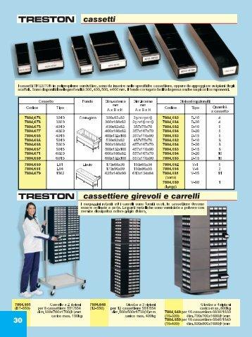 cassetti cassettiere girevoli e carrelli - ITECO