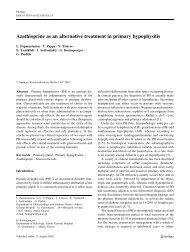 Azathioprine as an alternative treatment in primary hypophysitis