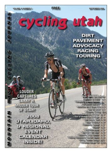 September 2008 Issue - Cycling Utah