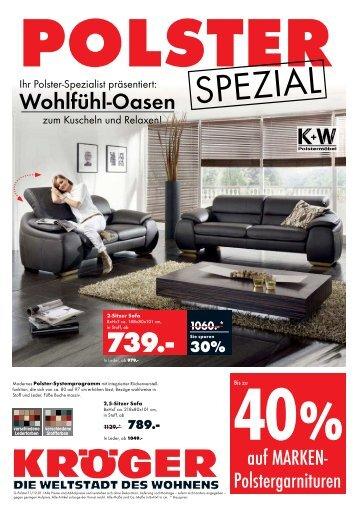 30% - Möbel-Kröger - Die Weltstadt des Wohnens