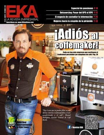 coffemaker! - Revista Empresarial EKA
