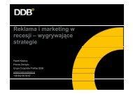 Reklama i marketing w recesji – wygrywające recesji wygrywające ...