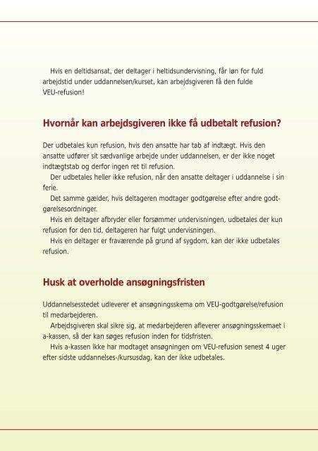 Send medarbejderne på VEU-uddannelse - og scor kassen - FOA