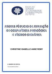 christine isabelle anne remy - Repositório Científico do Instituto ...