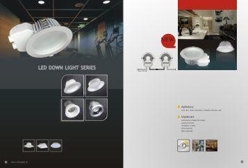 high power led display light • corvi series jesco lighting led down light series
