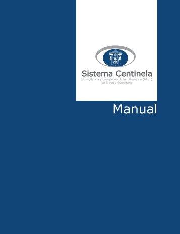 MANUAL sistema centinela - Inicio - Universidad de Guadalajara