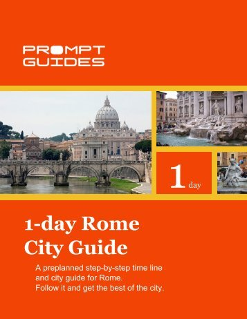 1-day Rome City Guide - Prompt Guides